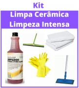 Kit Limpa Cerâmica - Limpeza Intensa