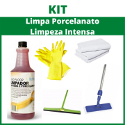 Kit Limpa Porcelanato - Limpeza Intensa