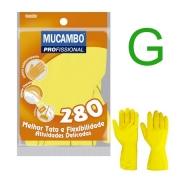 Luva Multiuso Amarela Mucambo G