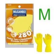 Luva Multiuso Amarela Mucambo M