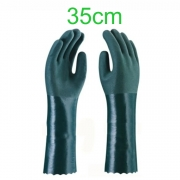 Luva PVC - 35cm - Cor Verde