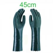 Luva PVC - 45cm - Cor Verde
