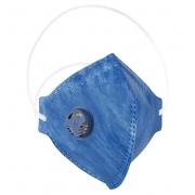 Máscara PFF2 Azul Com Válvula