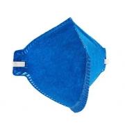 Máscara PFF2 Azul Sem Válvula Plastcor Ecoar