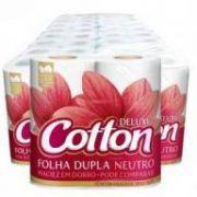 Papel Higiênico Cotton Folha Dupla c/64