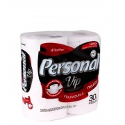 Papel Higiênico Folha Dupla Personal Vip com 4