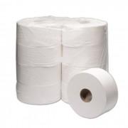 Papel Higiênico Rolão Branco Institucional 300 metros com 8 Bobinas - Top Paper