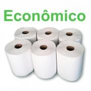 Papel Toalha Bobina Branco Econômico 200m com 6 rolos