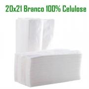Papel Toalha Interfolhado Branco 100% Celulose com 700 folhas - Silvestre