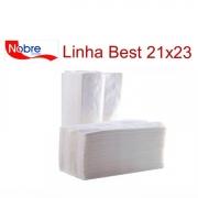 Papel Toalha Interfolhado Branco Nobre Best 100% Celulose 21x23 com 1000 folhas
