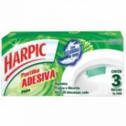 Pastilha Adesiva Harpic c/3 - Lavanda