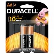 Pilha AA Duracell c/2