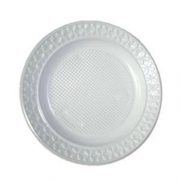 Prato Plastico Raso - 23cm