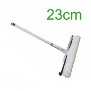 Rodo Combinado de Alumínio - Limpa Vidro - 23cm