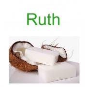 Sabão de Coco em barra 100g Marca Ruth