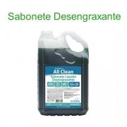 Sabonete Líquido Desengraxante Audax All Clean 5L Fragrância Erva Doce