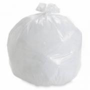 Saco de Lixo Branco Leitoso 40 Litros