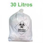 Saco de Lixo Hospitalar Infectante 30 Litros com 100 unidades