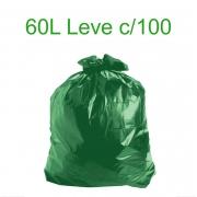 Saco de Lixo Verde - 60 Litros