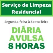 Serviço de Limpeza Residencial - Diária Avulsa - 8 Horas - Segunda à Sexta-Feira