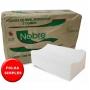 Papel Toalha Interfolhado Branco 100% Celulose Nobre Fitness 20x21 com 1000 folhas