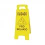 Placa Sinalizadora Amarela - Piso Molhado