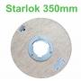 Starlok com Flange para Enceradeira - Bralimpia - 350mm