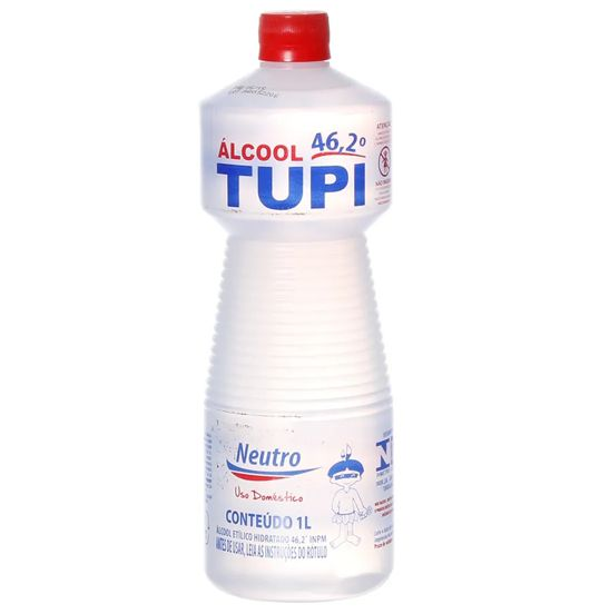 Álcool Líquido 46° Tupi 1 litro