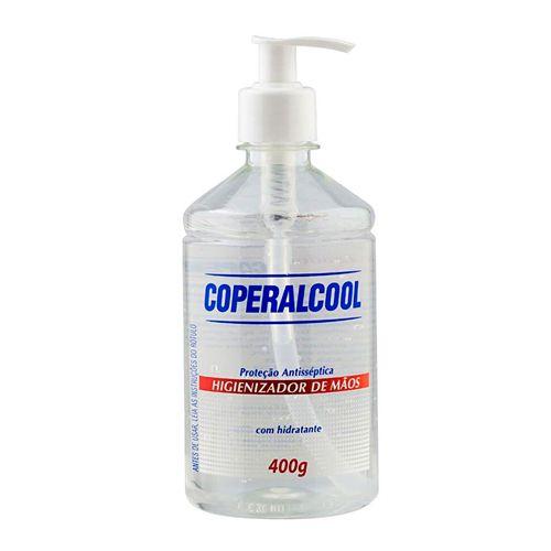 Álcool Gel Pump 70° Antisséptico 400g marca Coperalcool