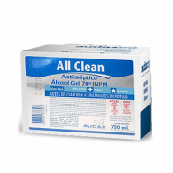 Álcool Gel Refil Audax 70° 700 ml