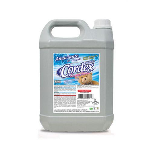 Amaciante de Roupas Cordex 5 Litros - Suave Perfume de Roupa Limpa
