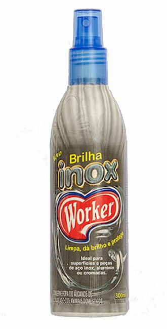 Brilha Inox Worker 300ml
