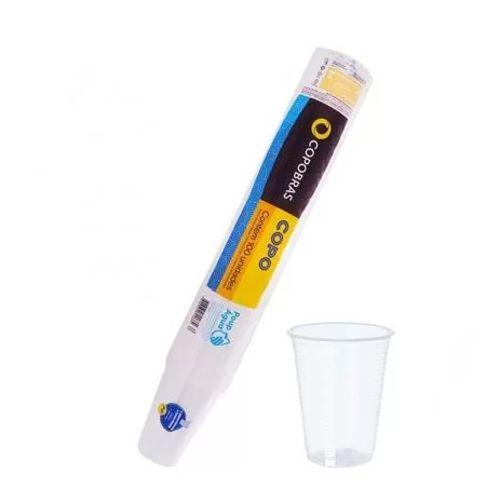 Copo Plástico Copobrás PP 200ml c/100