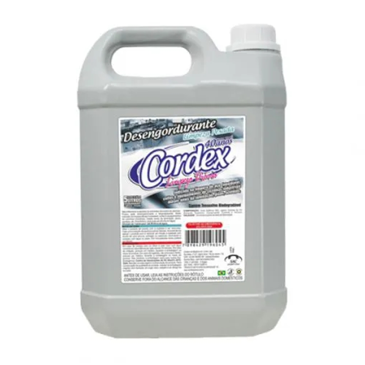 Desengordurante Líquido Concentrado Cordex 5L 1:50