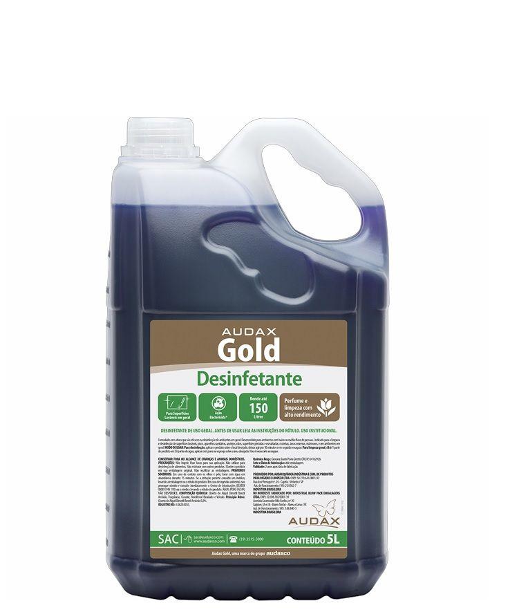 Desinfetante Concentrado Audax Gold 5 Litros 1:30