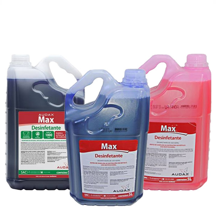 Desinfetante Concentrado Audax Max 5L 1:200