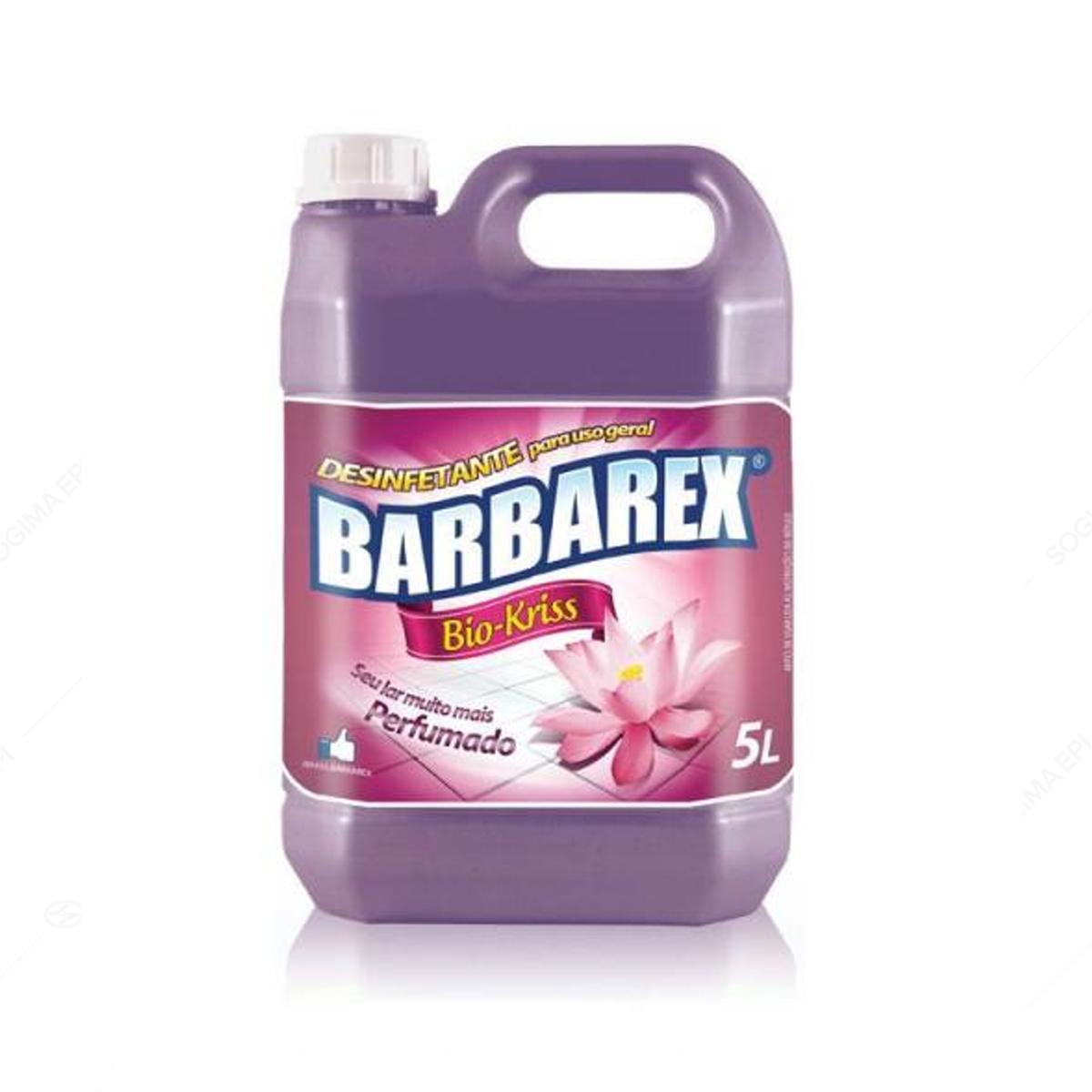 Desinfetante Pronto Uso barbarex Bio Kriss 5L - Floral