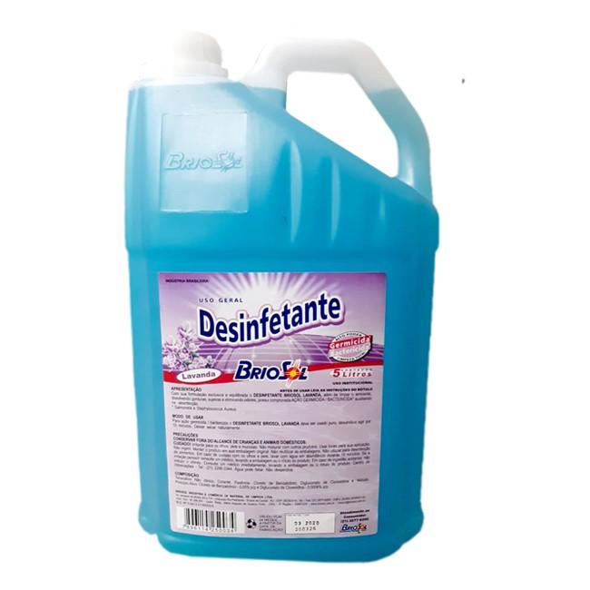 Desinfetante Pronto Uso Briosol 5L