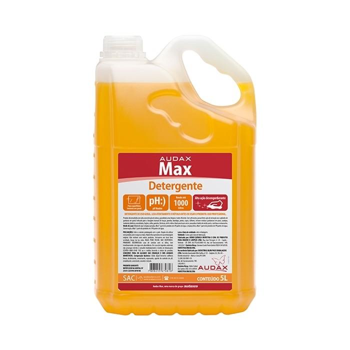 Detergente Concentrado Audax Max Neutro 5 Litros 1:200