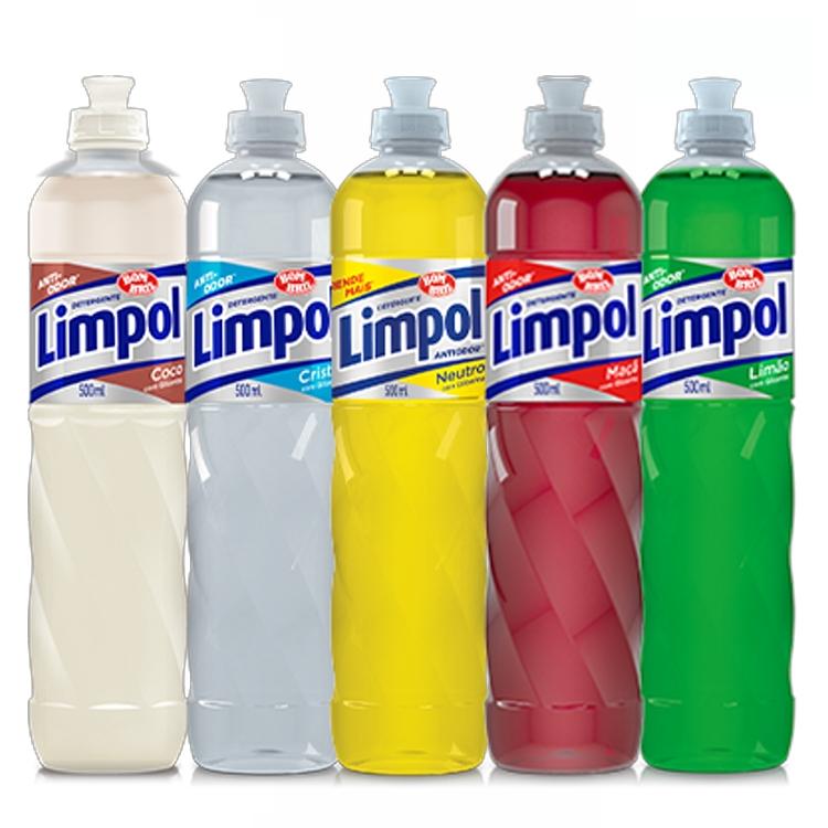 Detergente Limpol 500ml
