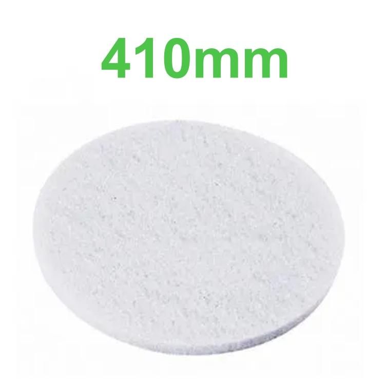 Disco Lustrador Branco para Enceradeira 410mm