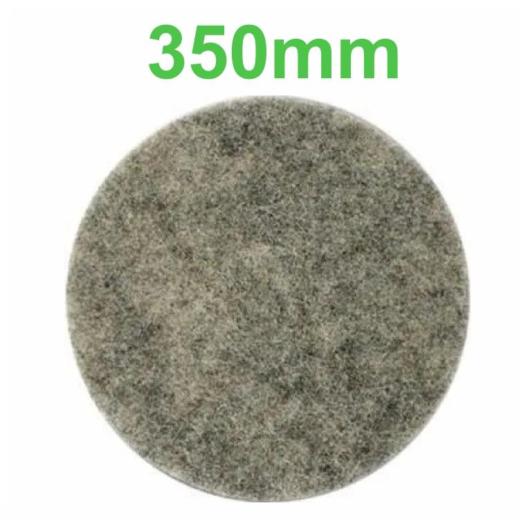 Disco Polidor Pelo de Porco - 350mm