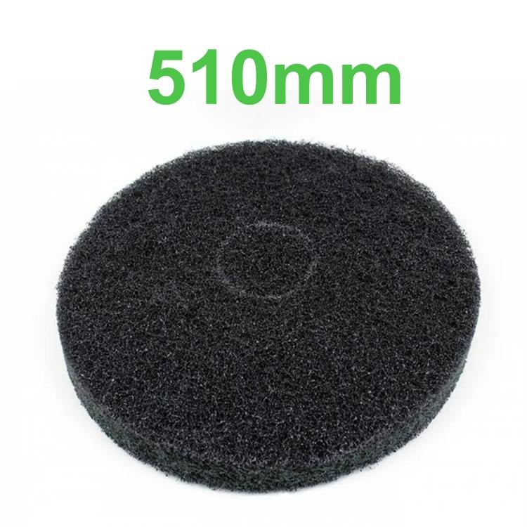 Disco Removedor Preto para Enceradeira 510mm