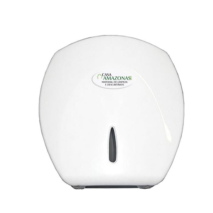 Dispenser Papel Higiênico Rolão 300/500mts Classic  + Dispenser Sabonete Líquido com reservatório