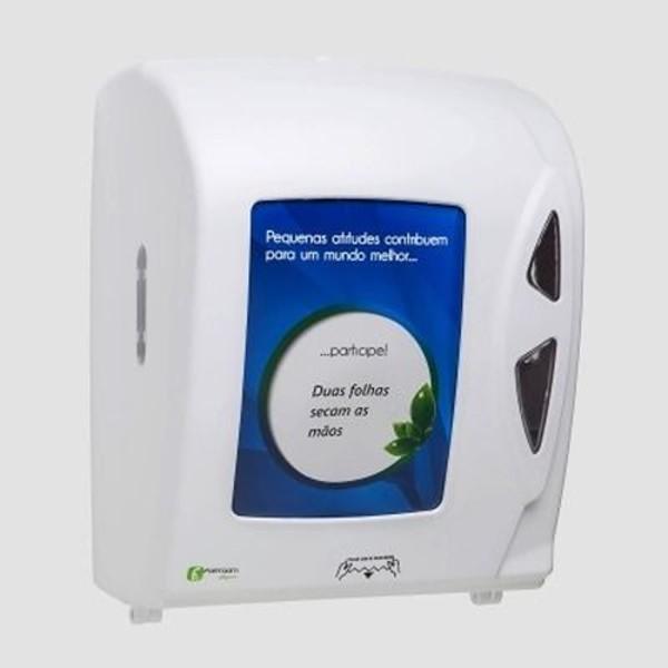 Dispenser Papel Toalha Bobina Auto Corte