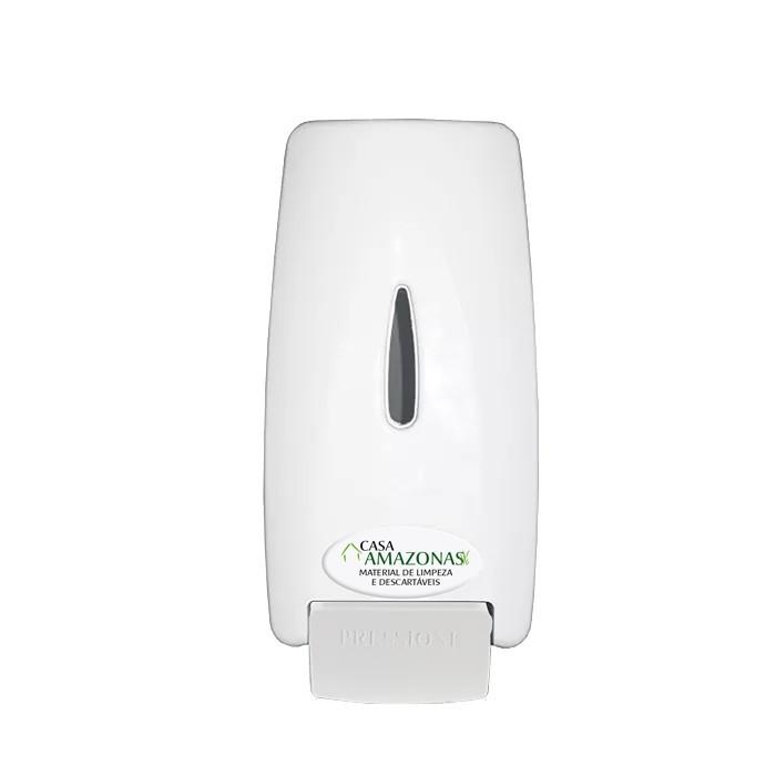 Dispenser Sabonete Líquido + 02 Refil Sabonete líquido Antisséptico 800ml