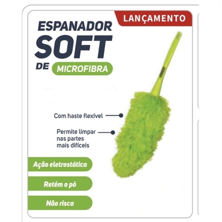 Espanador Soft de Microfibra Nobre