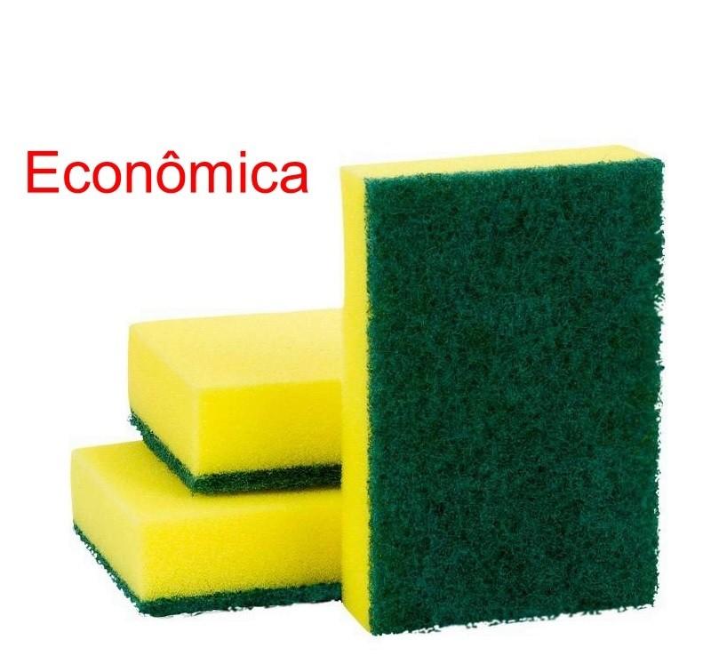 Esponja Dupla Face Econômica