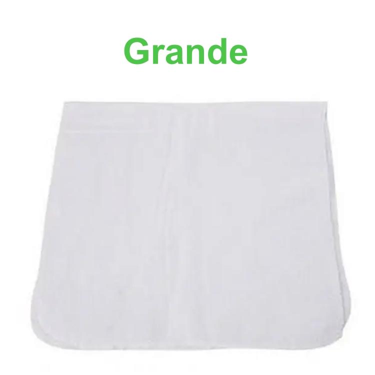Flanela Branca Grande