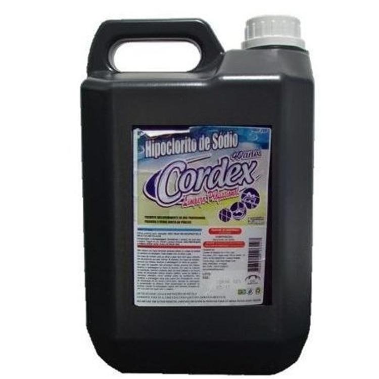 Hipoclorito Cordex 5L - Concentração: 12%